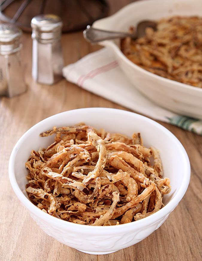 Fried Onion Strings