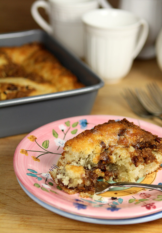 Bake Coffee Cake Convection