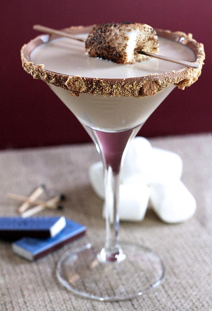 S'mores Martini