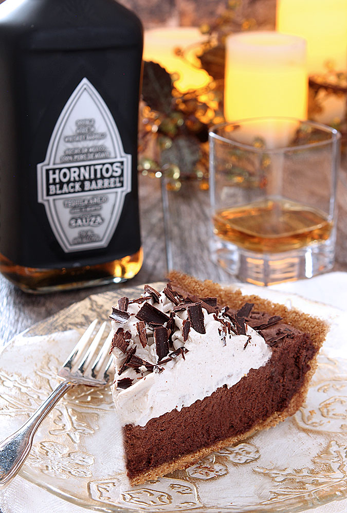 French Silk Pie with a Mexican Twist