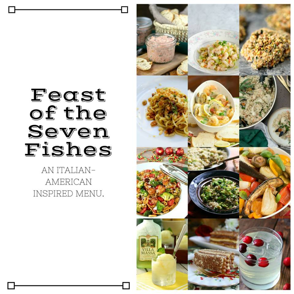 Feast of the Seven Fishes Collage