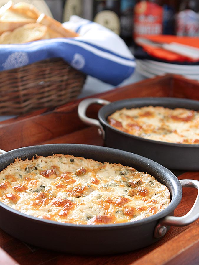 Warm and Spicy Spinach Dip
