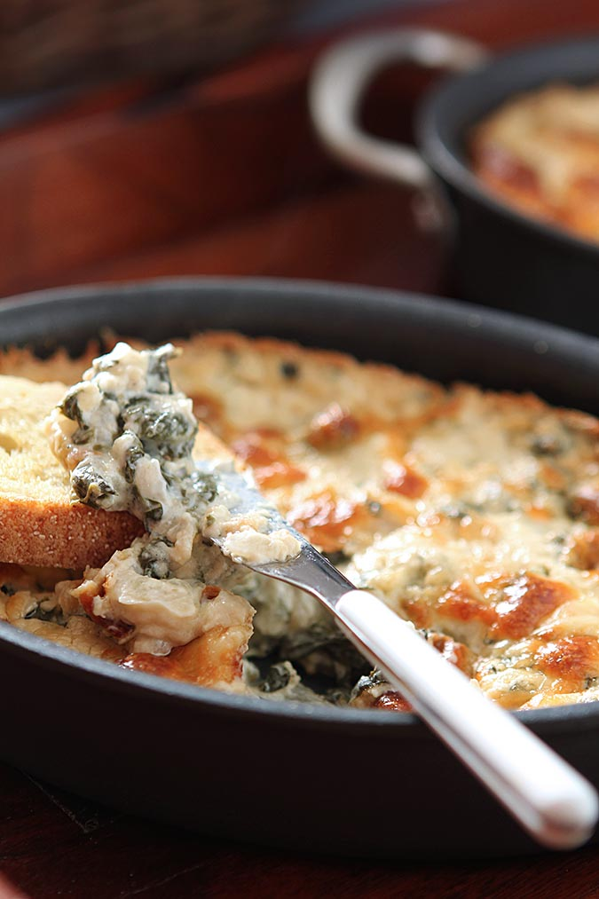 Warm and Spicy Spinach Dip | Denver Colorado Food and Cocktail Blogger