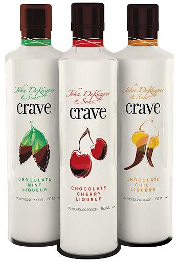 Crave Chocolate Mint Liqueur, Vodka and Vanilla Ice Cream Shake ...
