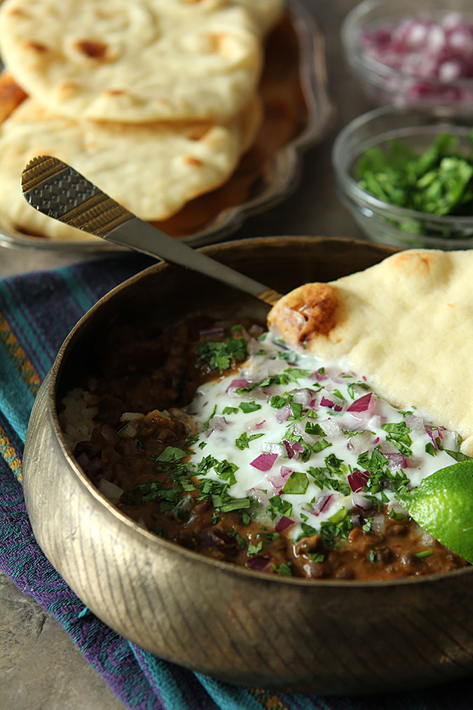 Dal Makhani - Indian Lentil Stew