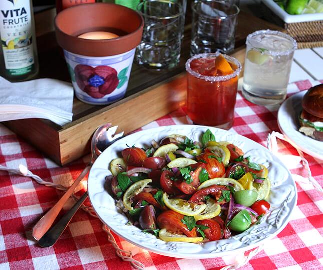 Ottolenghi Tomato Salad