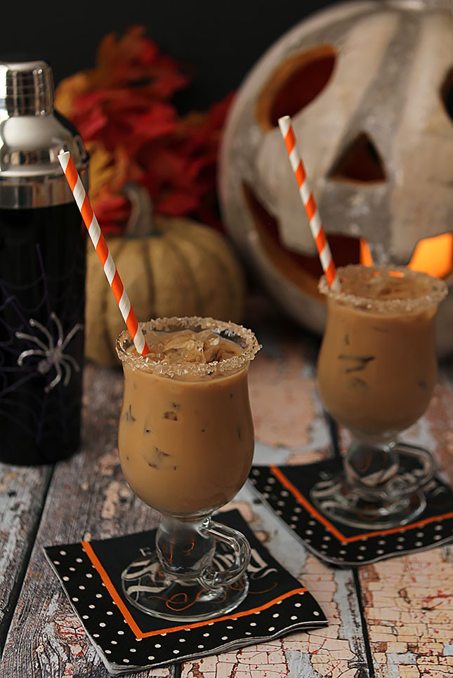 The Halloween Expresso - Rum, Espresso, Maple Syrup and Half and Half