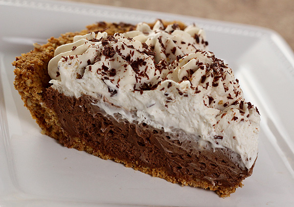 French Silk Pie with Graham Cracker Crust, Espresso and Kahlua ...