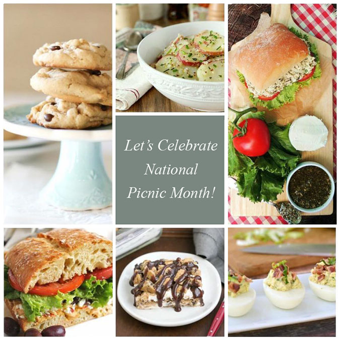 Picnic Menu Recipes for National Picnic Month