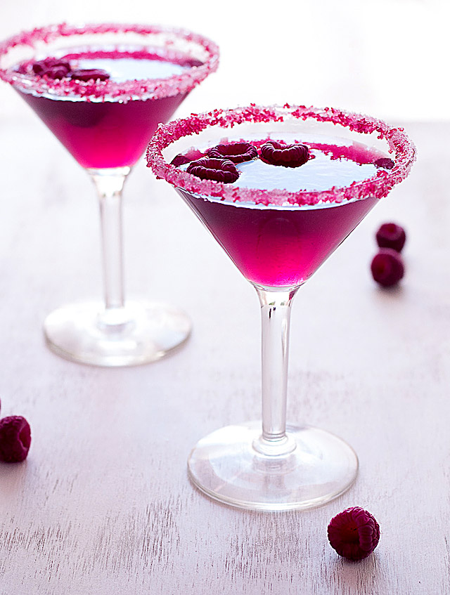 Cosmopolitan cocktail  Very Pink Raspberry Cosmopolitan | Creative Culinary | A Denver ...