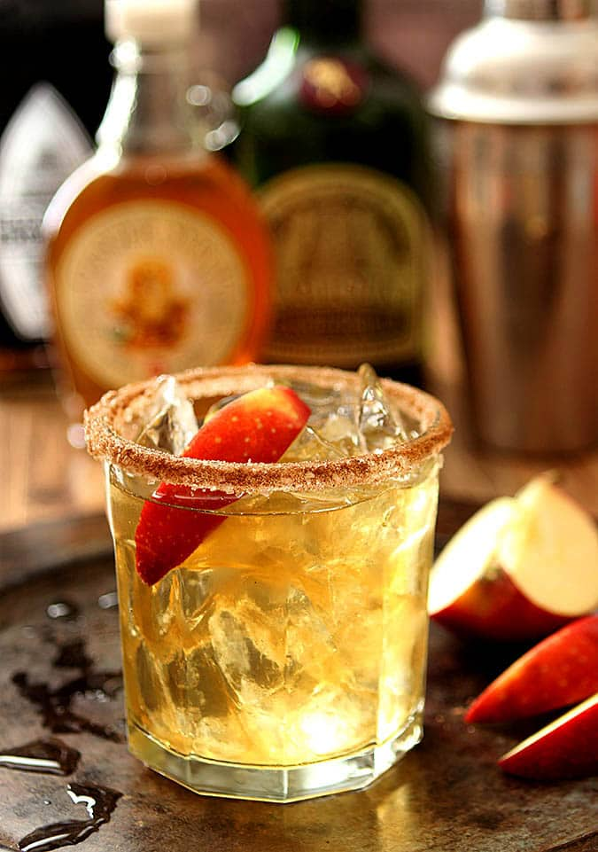 Apple Cider Margarita Cocktail