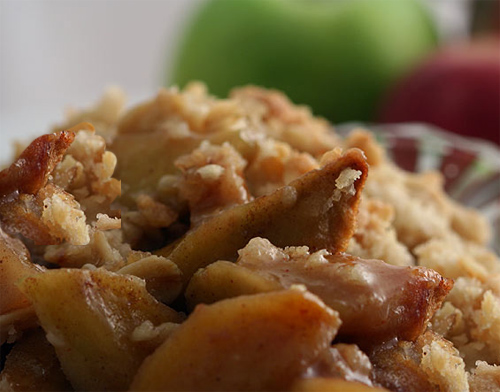 Pikes Peak Spiked Apple Crisp
