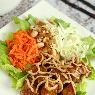 Asian Chicken Salad from Houlihan's – A Copycat Recipe