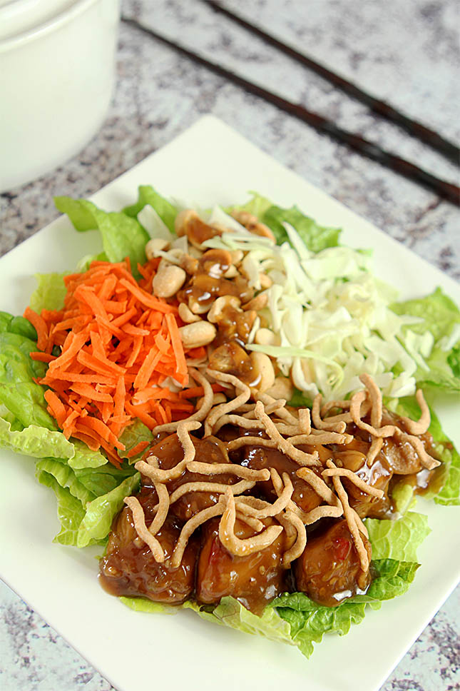 Asian Chicken Salad from Creative-Culinary.com