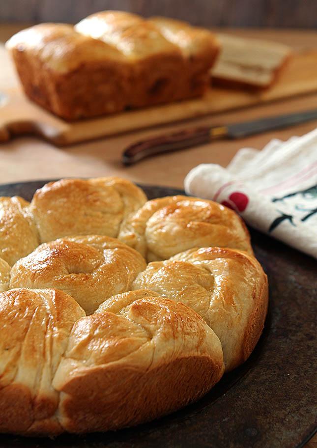 Asian Sweet Bread from Creative-Culinary.com