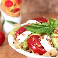 Caprese Pasta with Avocado