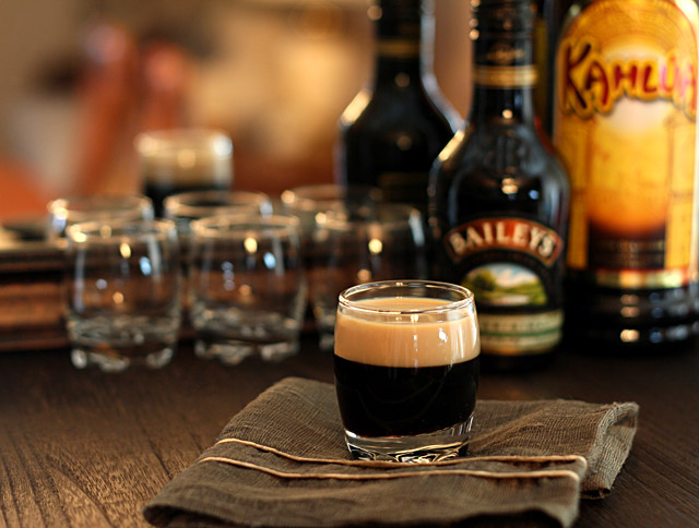 A Baby Guinness for St. Patrick's Day