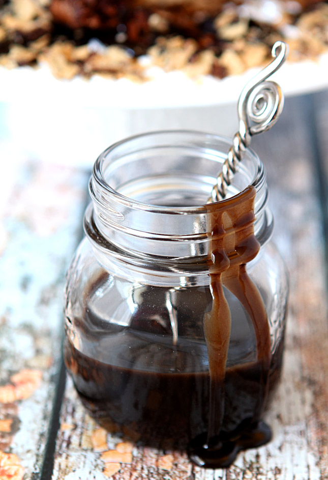 Coffee and Kahlua Caramel Sauce
