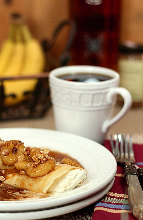 Crepes ala Bananas Foster | Creative Culinary