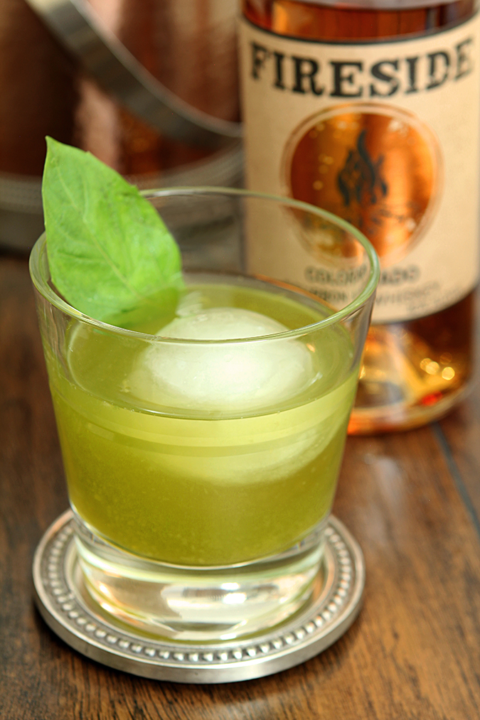 Basil Old Fashioned