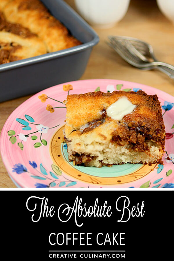 The Best Coffee Cake Ever PIN