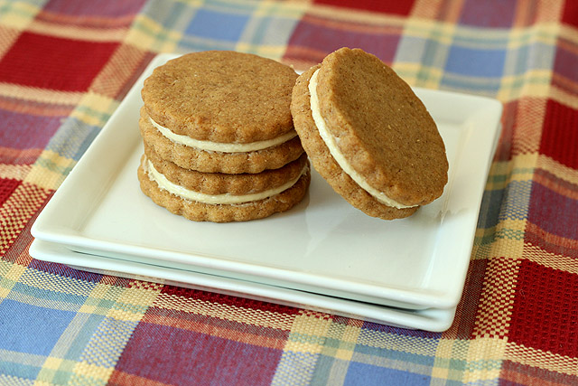 Homemade Biscoff Cookies with Biscoff Cream Cheese Frosting