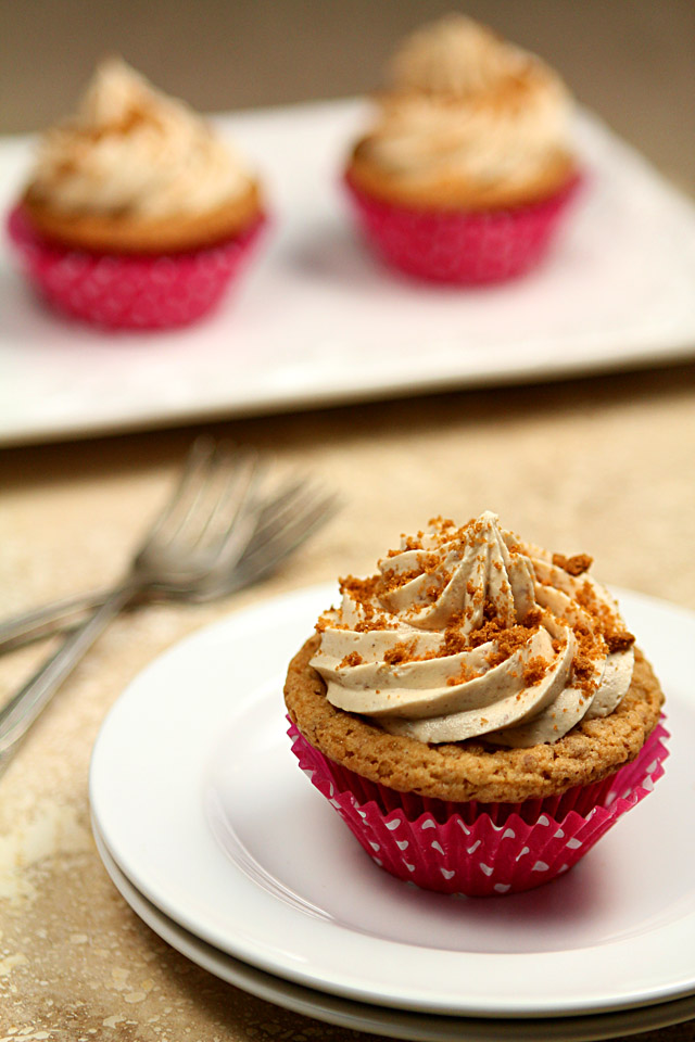 Biscoff Cupcakes and Frosting