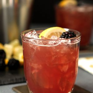 Blackberry Bourbon Cocktail