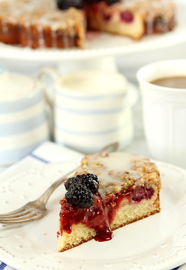 Blackberry Cream Cheese Coffee Cake  Creative Culinary