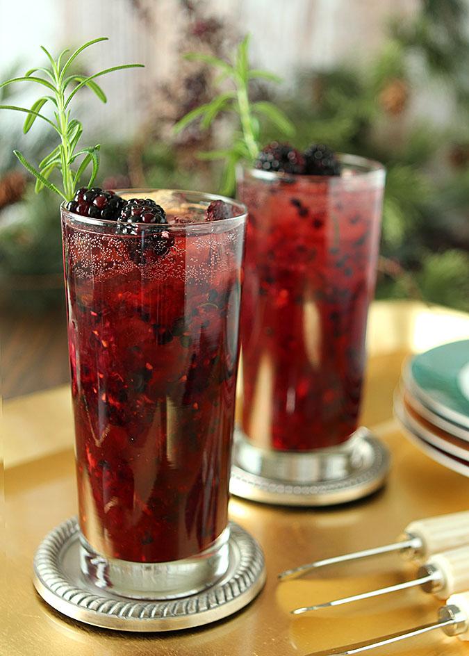 Blackberry Gin Sling Creative Culinary