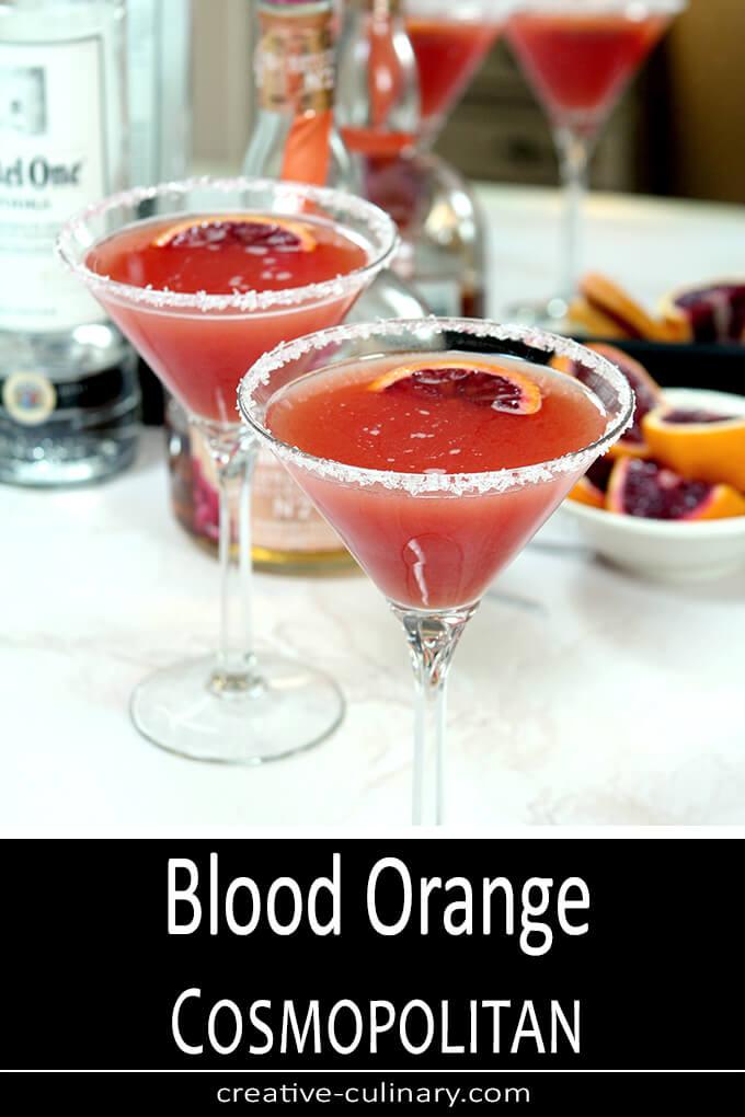 Blood Orange Cosmopolitan PIN