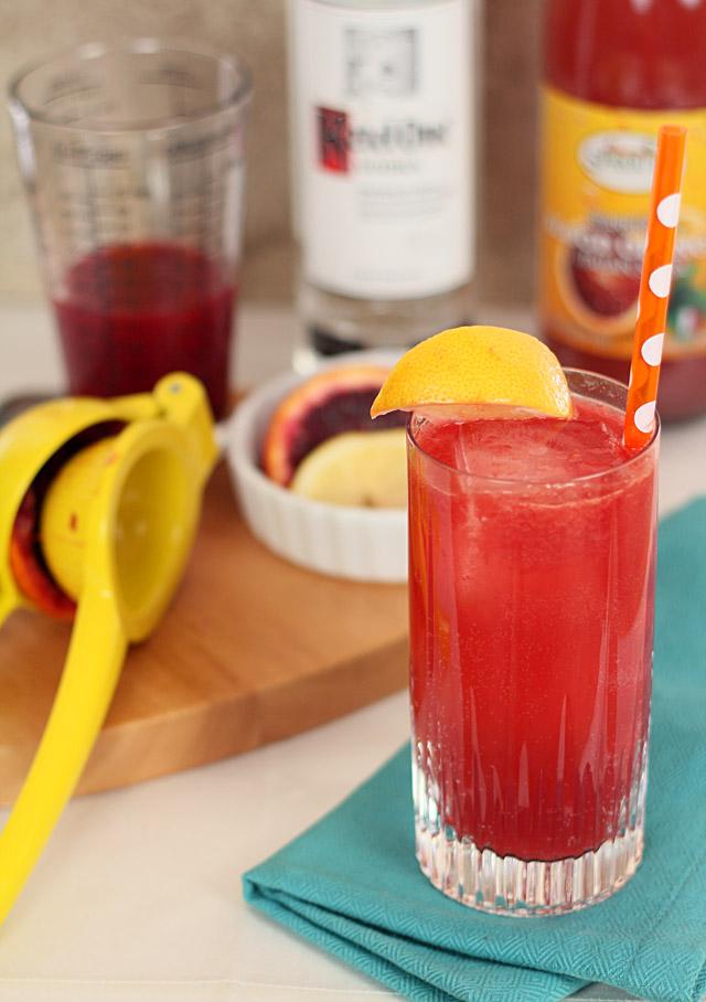 Blood Orange Snowbird Spritzer