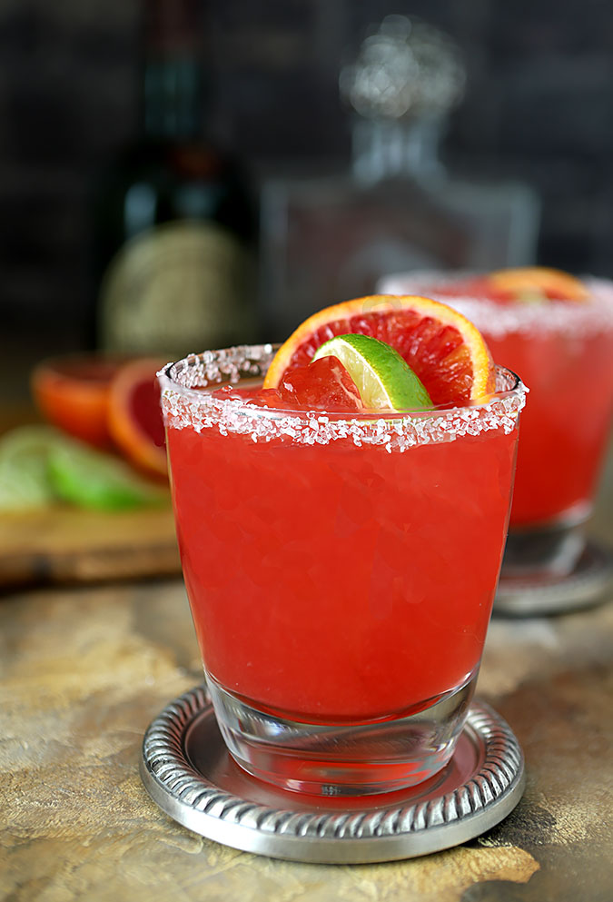 Blood Orange Margarita | Creative Culinary