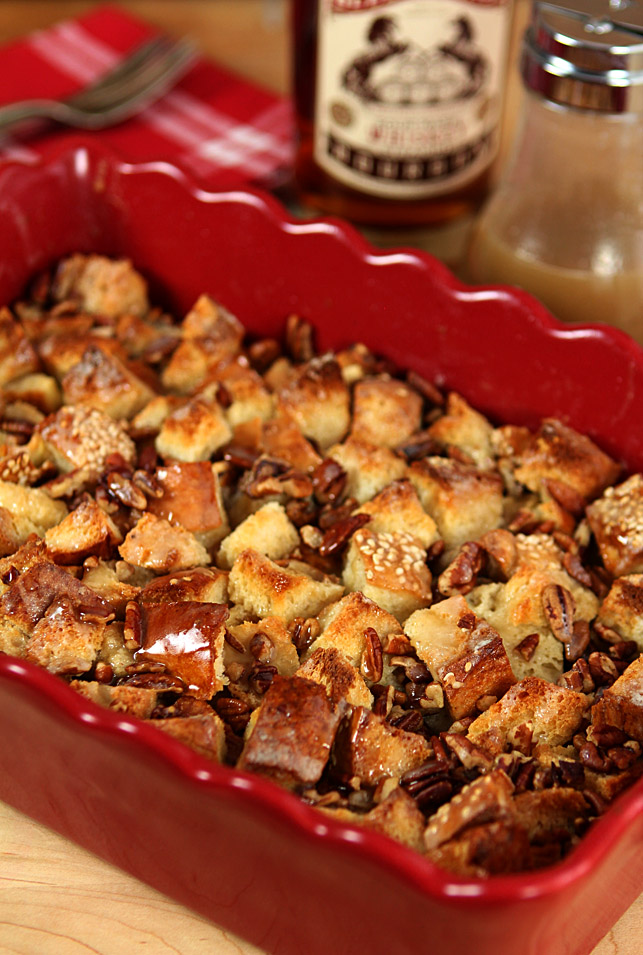 Boozy Bread Pudding | Creative-Culinary.com