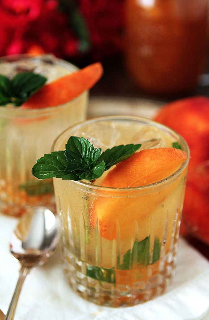 Bourbon and Peach Jam Smash | Creative Culinary | A Denver, Colorado ...