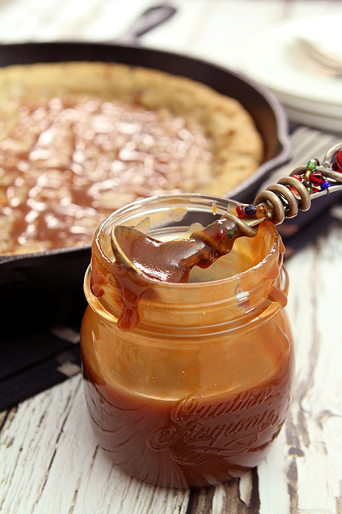 The Best Caramel Sauce Has Bourbon