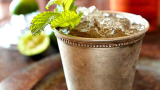 Muscovado and Vanilla Bean Mint Julep