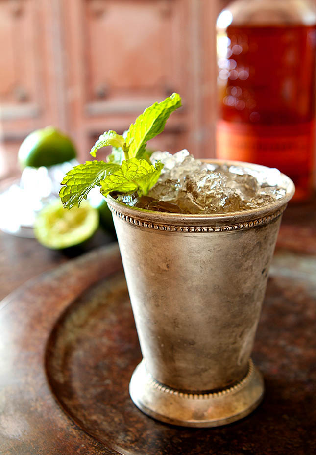 Muscovado and Vanilla Bean Mint Julep from @creativculinary