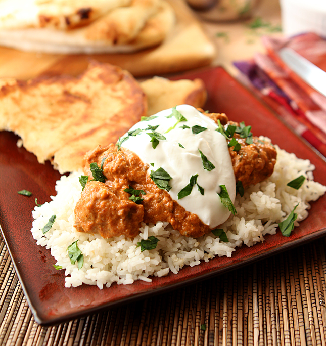 Indian butter chicken creative culinary indian butter chicken tikka masala forumfinder Images