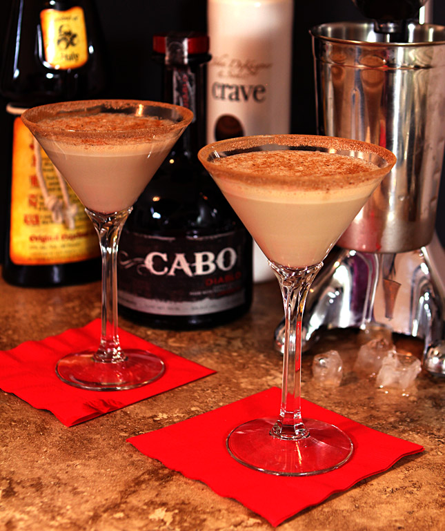 The Kristen Kocktail - Celebrating Dine and Dish 7th Blogiversay with Cabo Wabo Diablo