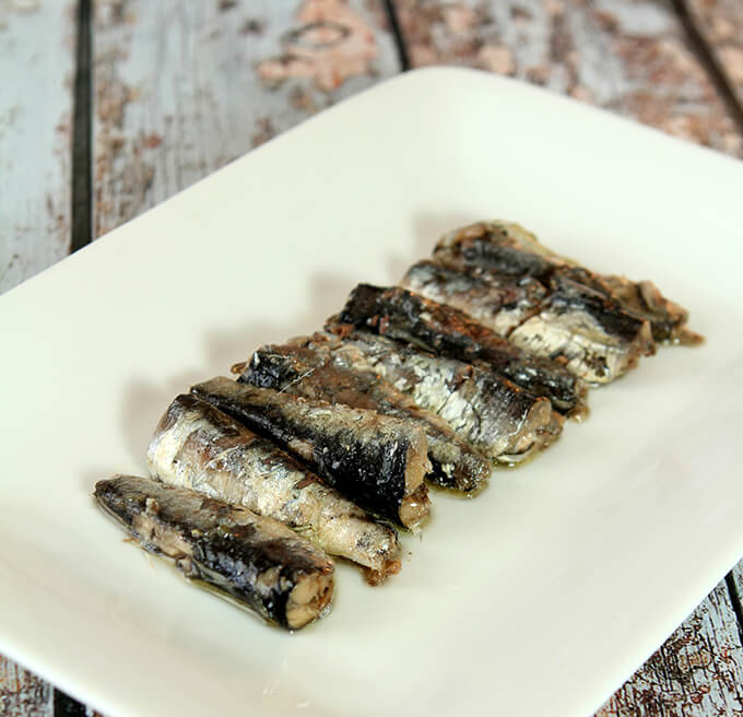 Anchovies for Grilled Caesar Salad with Homemade Garlic Croutons