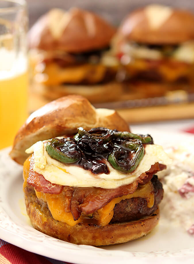 Canyon creek burger from ted 39 s montana grill creative for Ted s fish fry menu