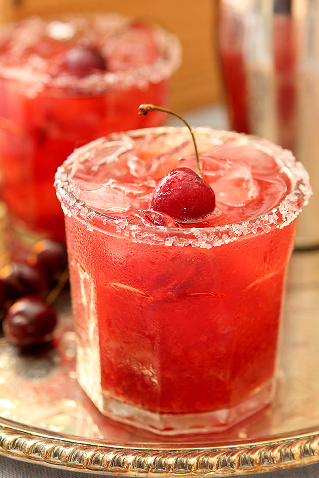 Cherry Old Fashioned Smash