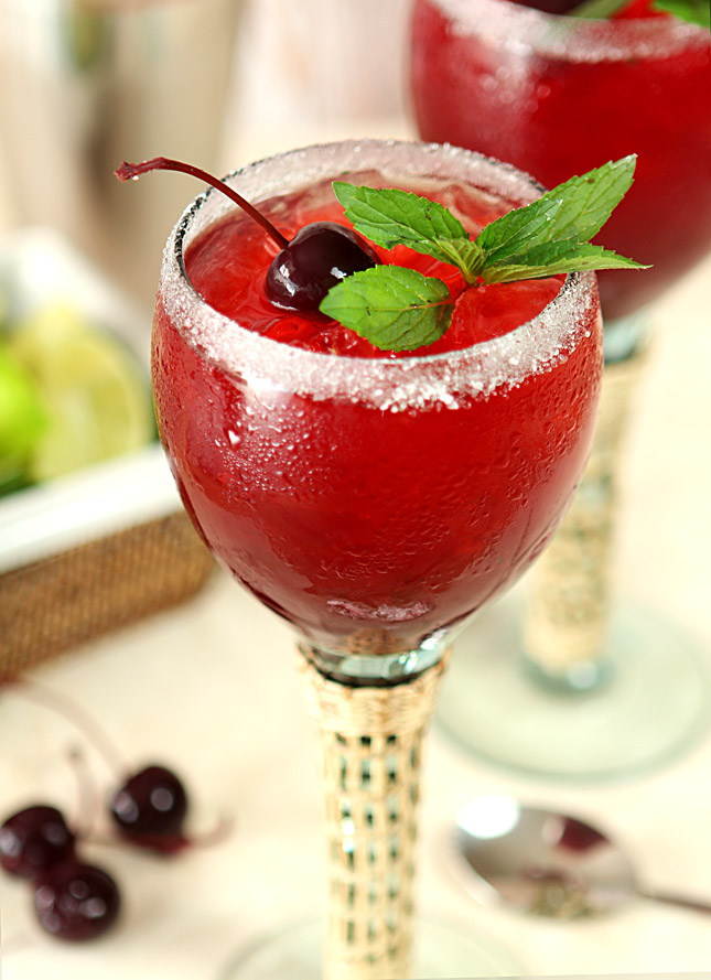 Cherry Mint Margarita