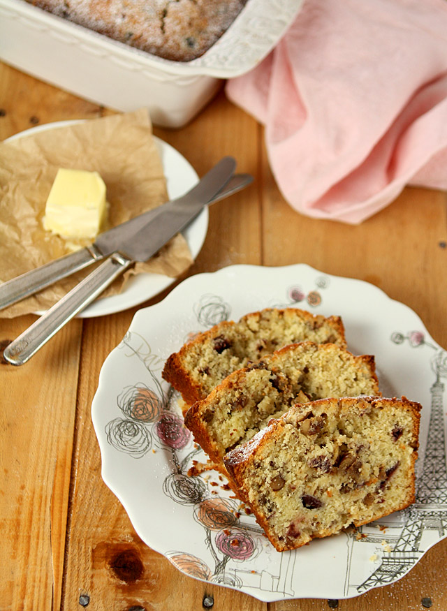 Cherry Nut Bread | Creative Culinary