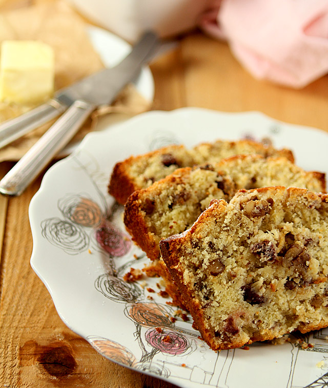 Cherry Nut Bread from @creativculinary