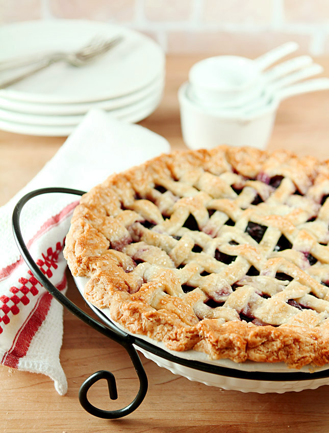 Perfect Pie Crust and a Cherry Pie
