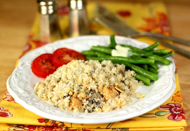Chicken with Mushrooms, Rice and a Marsala Cream Sauce | Creative ...