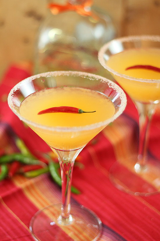 Red Chile Martini Recipes — Dishmaps