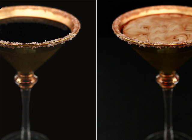 Chocolate Chili Martini